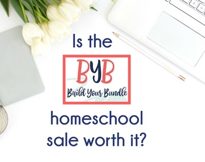 Is the Build Your Bundle homeschool sale worth it?