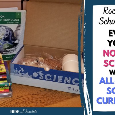 Rock Middle School Science Even If You're Not Sciencey With An All-In-One Science Curriculum