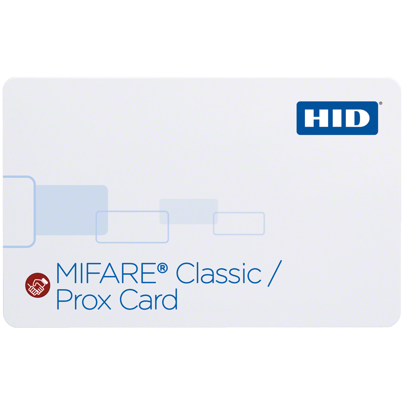 HID® iCLASS SE® 350x SIO® Technology-Enabled MIFARE® + Prox Card