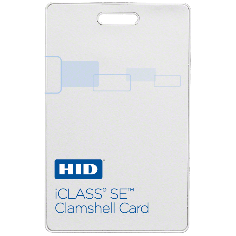 HID® iCLASS SE® 3350 Clamshell Card