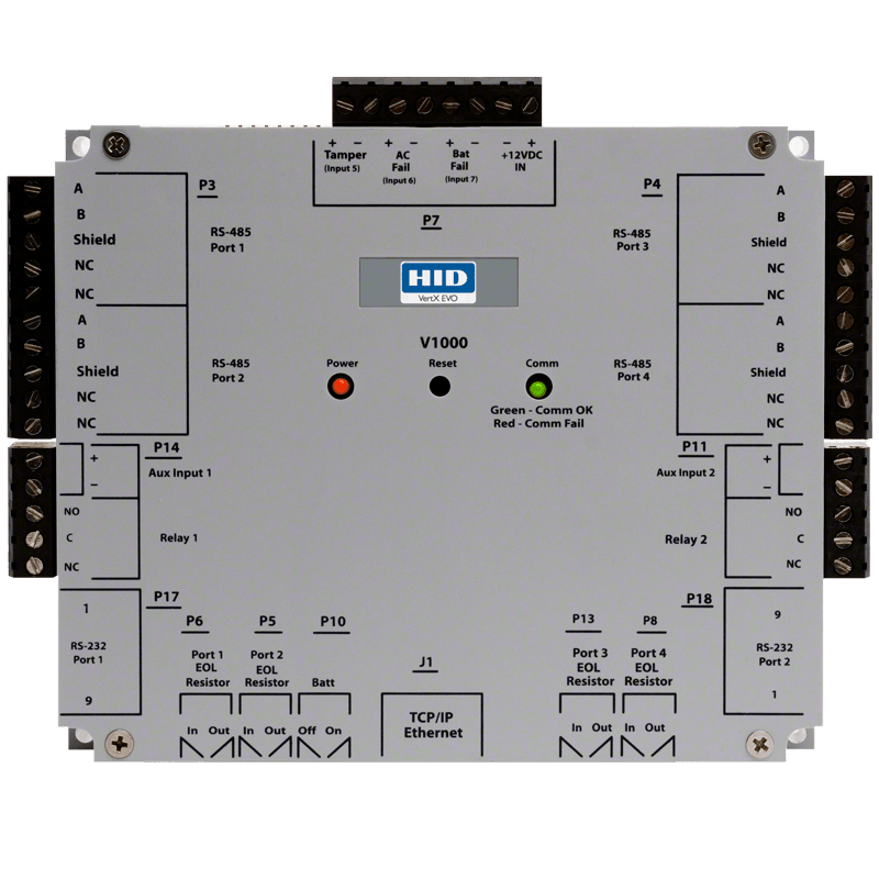 Controller Area Network Wiring Diagram Hid 174 Vertx 174 Evo V1000 Networked Controller Hid Global