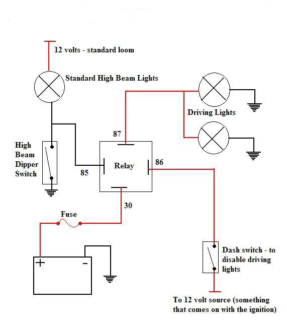 narva switch wiring diagram 12v auto relay how to wire up spotlights data a two way