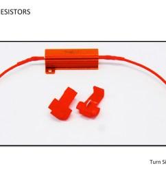 load resistors installation diagram guide for turn signals led lights [ 1200 x 900 Pixel ]
