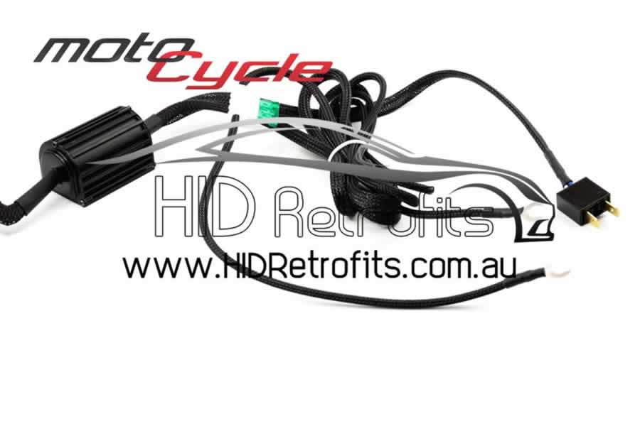 Wire Harnesses : H7: Single Output MotoCycle