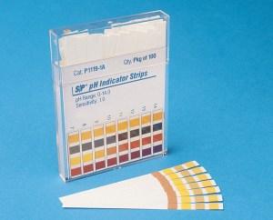 Tiras para medir pH