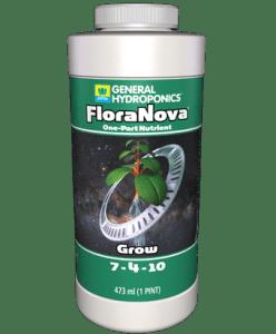 Nutrientes para hidroponia