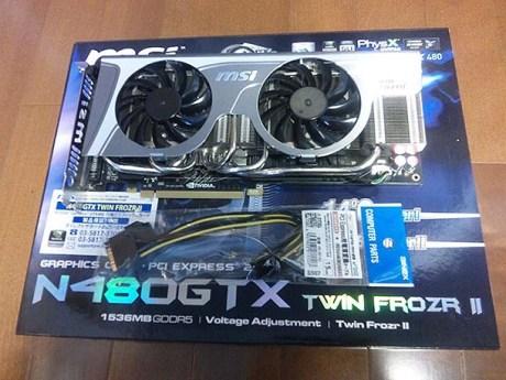 GTX480カード