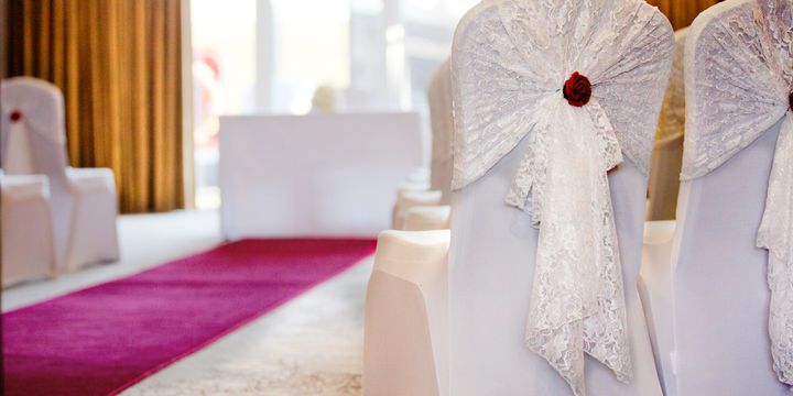 chair cover hire ellesmere port mainstays mid back office civil ceremonies wirral weddings cheshire