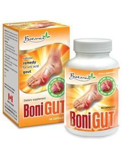 BoniGut Botania URIC ACID GOUT Relief