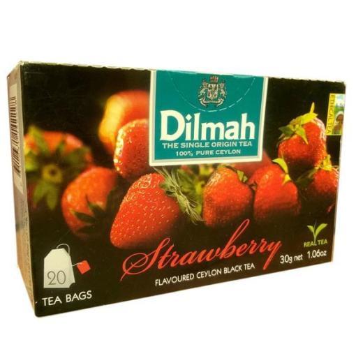 Black Tea Dilmah Strawberry