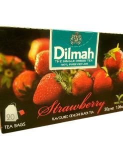 Black Tea Dilmah Strawberry