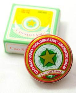 Aromatic Golden Star Balm Vietnam
