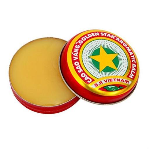 Vietnam Golden Star Balm Small Tin