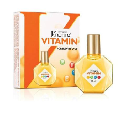 New V.Rohto Vitamin Eye Drops