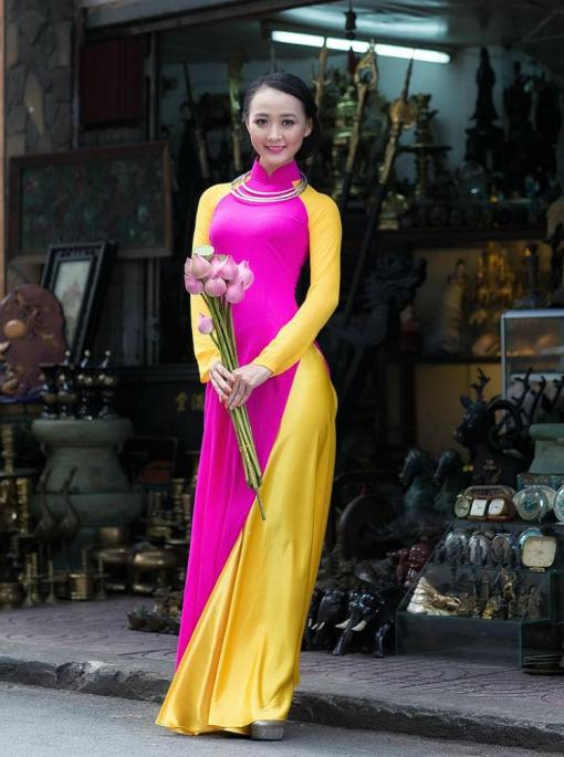 Ao Dai Vietnam Custom Made 4
