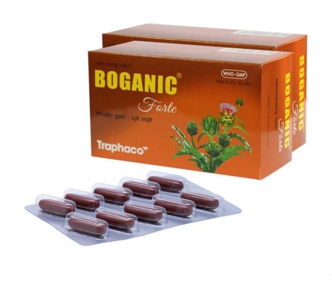 boganic traphaco liver support
