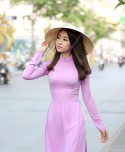 Ao Dai Vietnam fabriqué sur commande
