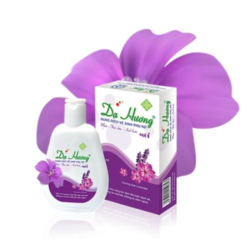 new da huong feminine hygiene lavender