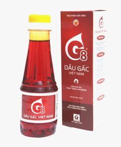 Vinaga G8 Organic Gac Oil