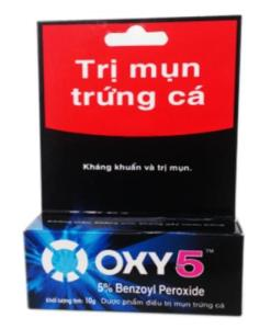 OXY 5 Regular Strength Acne Pimple Medication Benzoyl Peroxide