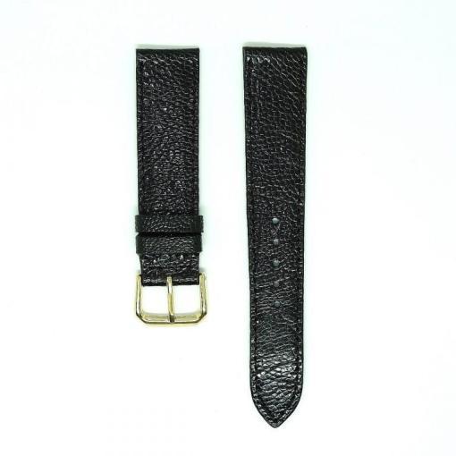 Vietnam Black Ostrich Leather Wrist Watch Strap