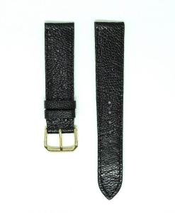 Vietnam Black Ostrich Leather Wrist Watch Strap