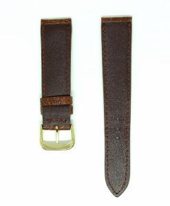 watch-strap-dark-brown-ostrich-leather