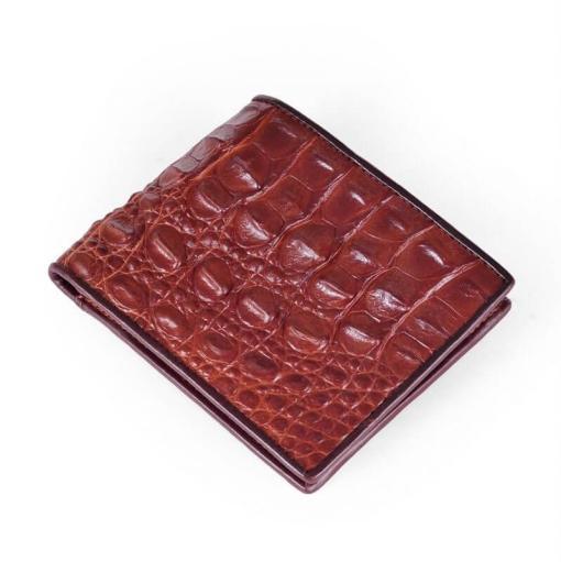 crocodile-back-skin-leather-men-wallet-brown-copper