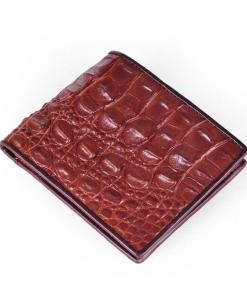 crocodile-back-skin-leather-men-wallet-brown-copper