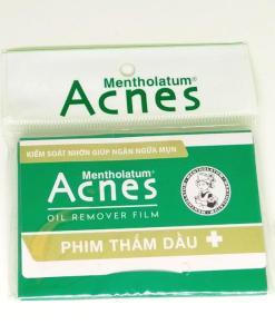 Mentholatum Acnes Oil Remover 3