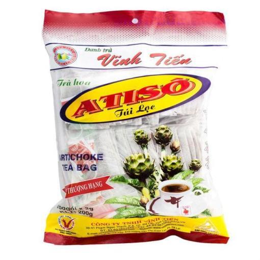 artichoke teabag vinh tien