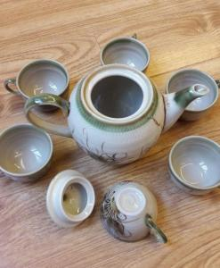 bat-trang-ceramic-tea-sets-eel-skin-glaze-vietnam