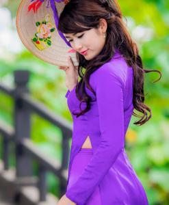 buy-hien-thao-ao-dai-vietnam-custom-made-purple-blue-silk