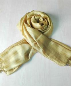 Vietnam Natural Silkworm Women Scarf