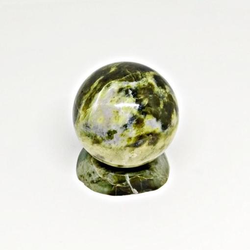 Vietnam Natural Polish Stone Green Ball