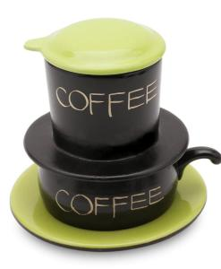 Green Gravity Ceramic Coffee Filter Bat Trang