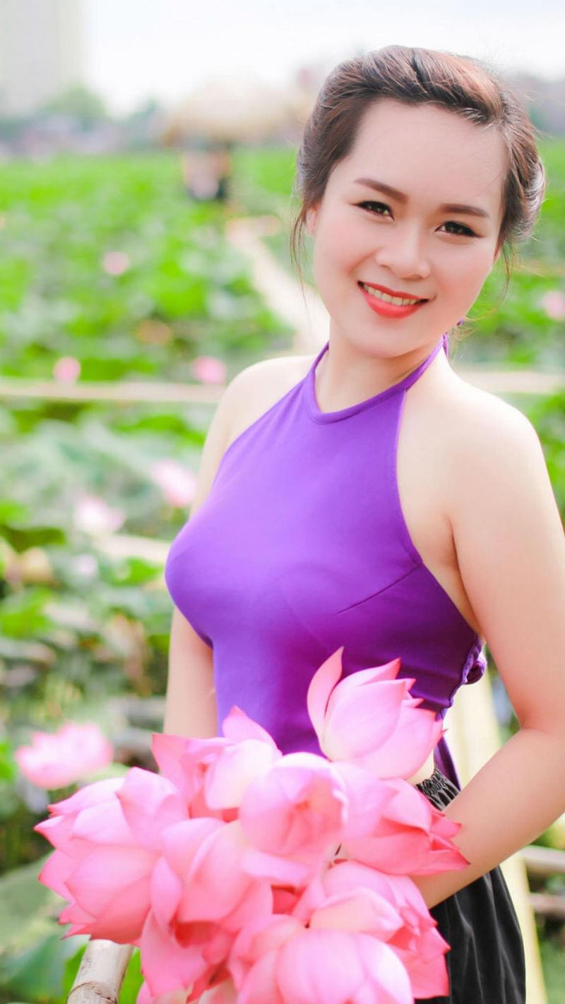Free photo Woman Girl Vietnam Asia Portrait Model Ao Yem