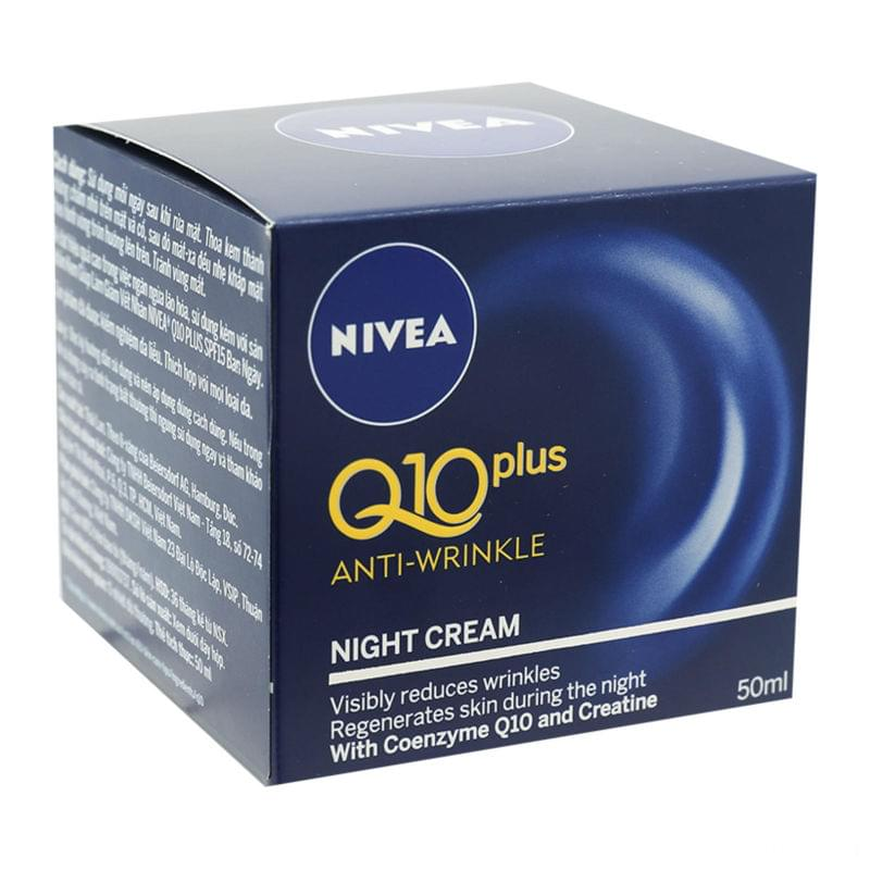 Nivea Night Cream Q10 2