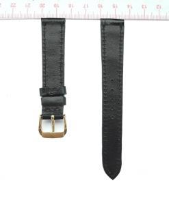 Black Alligator Watch Strap 16mm 2