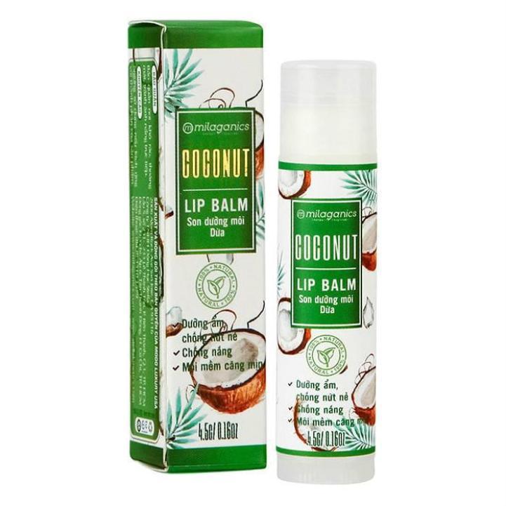 Milaganics Lip Balm Coconut