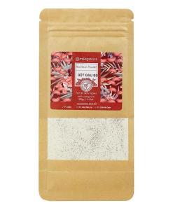 Milaganics Red Bean White