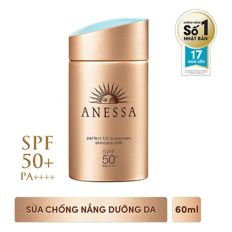 Perfect Skincare Uv Milk Anessa 60 Ml Sunscreen