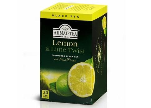 Ahmad Black Tea Lemon Lime