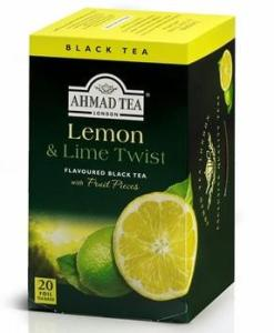 Ahmad Black Tea Lemon Lime