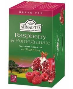 Ahmad Green Tea Raspberry Pomegranate