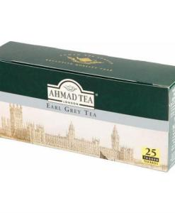 Ahmad London Earl Grey Tea Natural Box