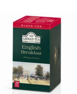 Ahmad London English Breakfast Tea Box