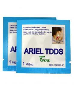 Motion Sickness Ariel TDDS Patch