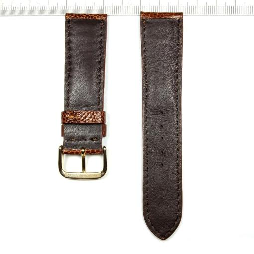 Ostrich Legs Skin Wrist Watch Strap 22mm 2