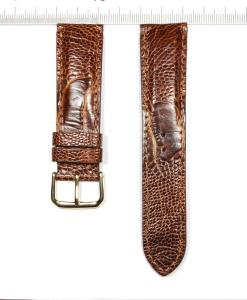 Ostrich Legs Skin Wrist Watch Strap 22mm